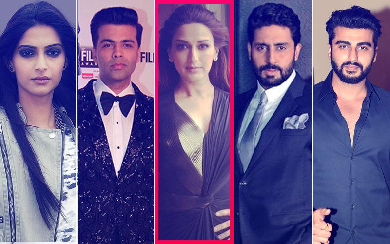 Sonali Bendre Diagnosed With Cancer: Sonam, KJo, Abhishek, Arjun Wish The Actress A Speedy Recovery