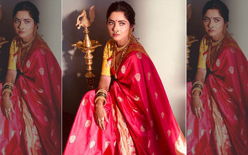 Sonalee Kulkarni Looks Mesmerizing In An Authentic Marathi Saree Look
