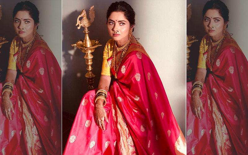 Sonalee Kulkarni Looks Mesmerizing In An Authentic Marathi Saree Look