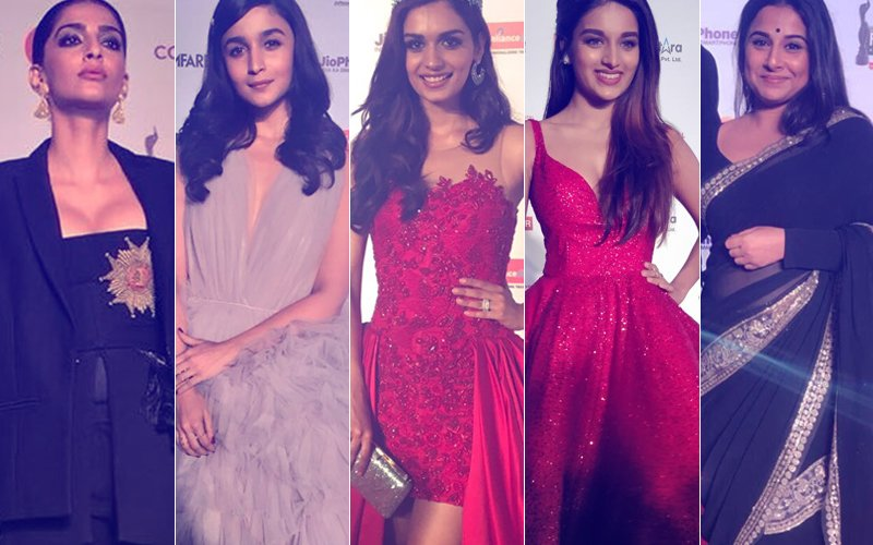 BEST DRESSED & WORST DRESSED At The Filmfare Awards 2018: Sonam Kapoor, Alia Bhatt, Manushi Chhillar, Nidhhi Agerwal Or Vidya Balan?