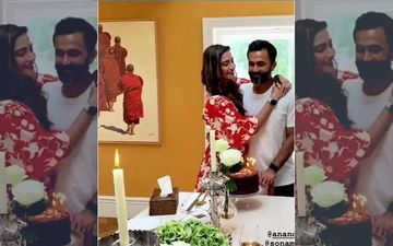 Sonam Kapoor Celebrates 'Love' Anand Ahuja's Birthday With A Unique Cake; Makes Everyday Phenomenal