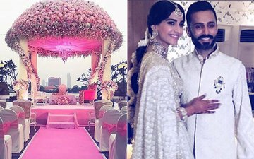 Sonam Kapoor Wedding: Bride & Groom To Exchange Wows In This Dreamy Mandap