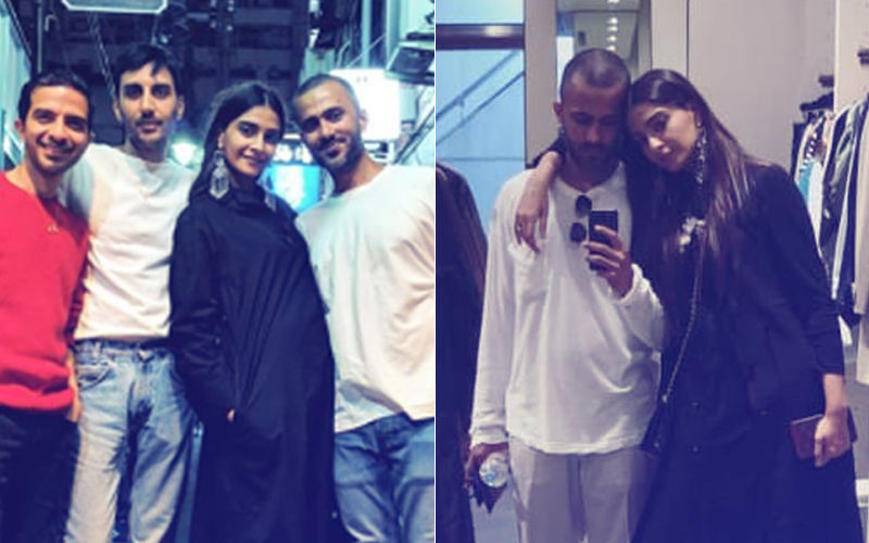After Vacationing In London, Sonam Kapoor & Anand Ahuja Are Holidaying In Tokyo