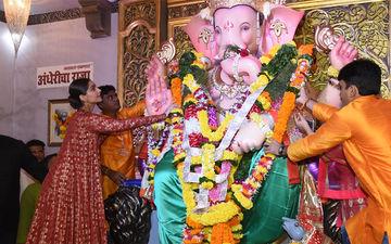 Ganeshotsav 2019: Sonam Kapoor, Ayushmann Khurrana-Nushrat Bharucha Visit Ganpati Pandals To Seek Blessings For Their Films