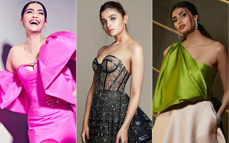 Sonam Kapoor, Alia Bhatt And Athiya Shetty Steal The Show At 64th Filmfare Awards  Red Carpet