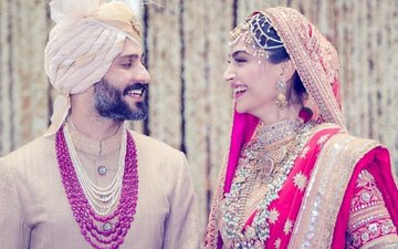 Just Married: Sonam Kapoor & Anand Ahuja Are Now Man & Wife