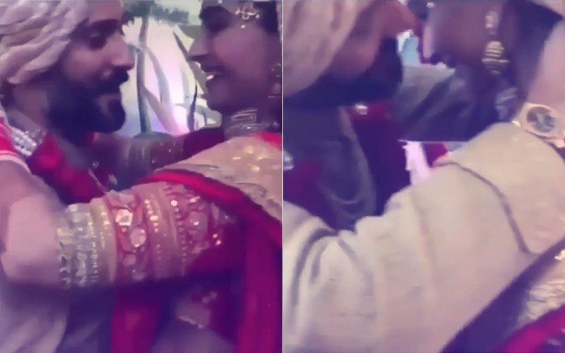 Watch: Sonam Kapoor & Anand Ahuja's Choo Chweet Varmala Video!