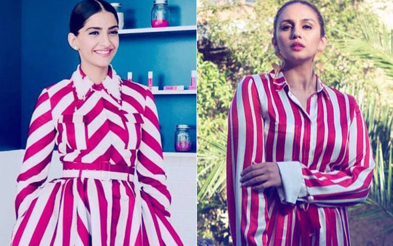 Cannes 2018: Same Pinch! Sonam Kapoor & Huma Qureshi End Up Wearing Identical Print