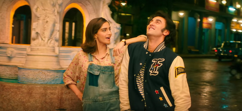 sonam kapoor and ranbir kapoor in sanju