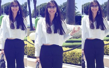 Sonam Kapoor Reaches French Riviera For the Cannes Film Festival