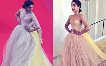 Cannes 2018: Sonam Kapoor Splashes Yellow With Nude On Day 2