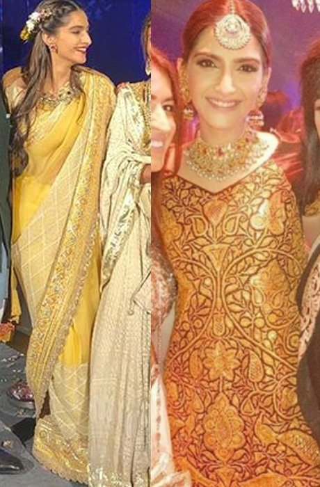 sonam kapoor at mohit marwah wedding