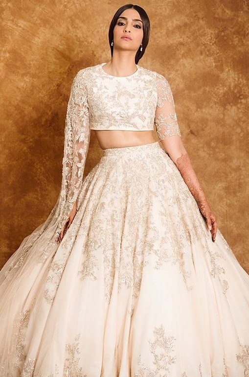 sonam kapoor looks stunning in white