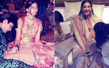 Sonam Kapoor's Teenage Picture Will Bring Back Memories From Her Recent Mehendi Ceremony