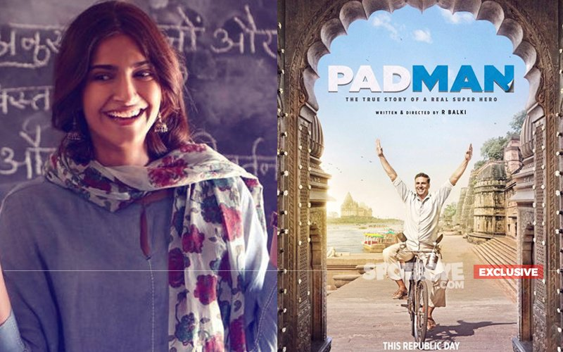 REVEALED: Sonam Kapoor Is NOT A REAL Character In Akshay Kumar's Pad Man