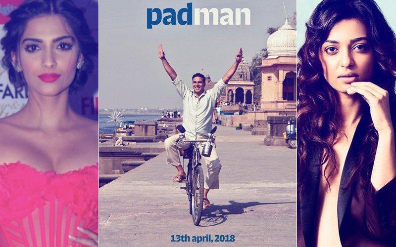 Akshay Kumar-Sonam Kapoor-Radhika Apte Starrer Padman Will Release On April 13 2018