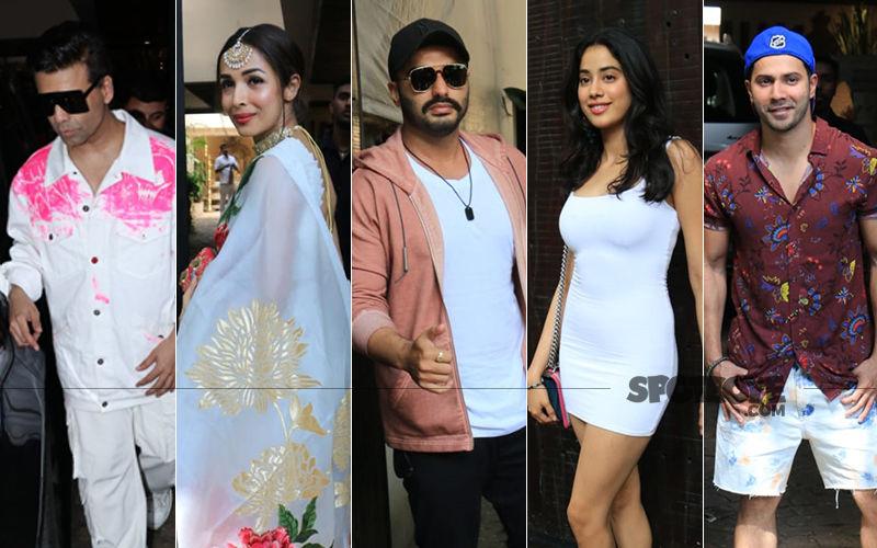 Sonam Kapoor's Birthday Bash: Arjun-Malaika, Karan Johar, Varun Dhawan, Janhvi Kapoor Make It A Fun Evening