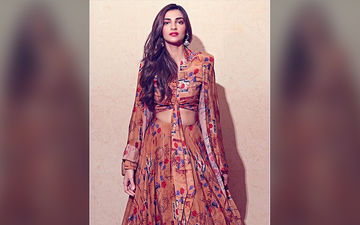 Sonam Kapoor's Printed Lehenga From The House Of Masaba Collection Is A Cool Combo Of Elegance And Style
