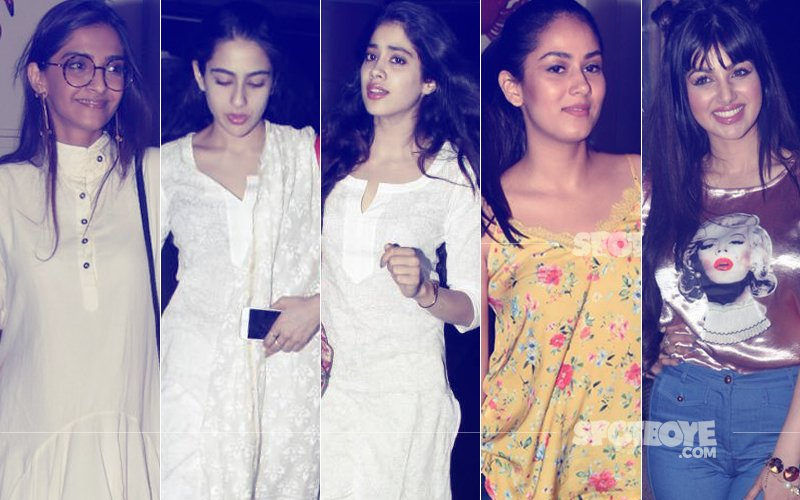 STUNNER OR BUMMER: Sonam Kapoor, Sara Ali Khan, Jhanvi Kapoor, Mira Rajput Or Ayesha Takia?