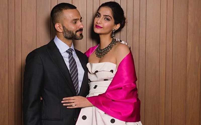 """Why Don't I Have Any Of These Pictures?"" Asks Anand Ahuja To Wifey Sonam Kapoor On Her Birthday Post For Him"