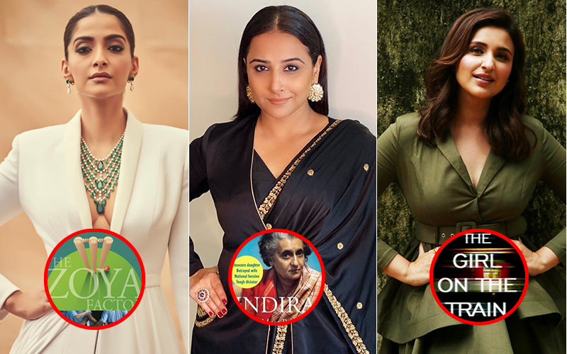Sonam Kapoor, Vidya Balan, Parineeti Chopra's Upcoming Films Will Be Adaptations Of Books