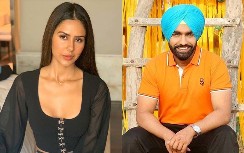 Ammy Virk and Sonam Bajwa Share a BTS Video from the Sets of 'Muklawa'