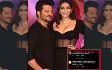Sonam Kapoor Criticized For Her Revealing Outfit While Posing With Dad Anil Kapoor; 'Have You No Shame?'