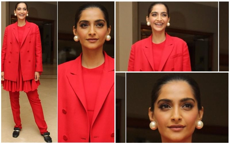 FASHION CULPRIT OF THE DAY: Sonam Kapoor, You Should've Totally Ditched Those Ill-Fitted Pants With The Dress!