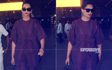 Sonam Kapoor's Airport Fashion Is A Style Guide For Chic Travels