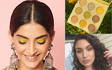 Yellow Eyeshadow Is The Colour Of Monsoon And Sonam Kapoor Rocks The Look