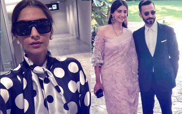Sonam Kapoor Arrives At Cannes; Anand Ahuja Is Already Missing His Wife!