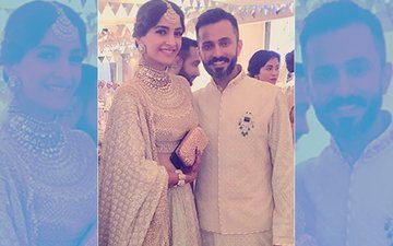 Here's Sonam Kapoor & Anand Ahuja's First Picture From Mehendi Ceremony
