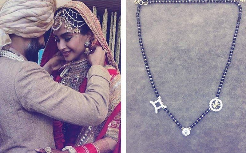 Sonam Kapoor Designed Her Mangalsutra & Here's What It Symbolises