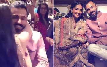 Sonam Kapoor-Anand Ahuja Wedding Anniversary: When The Lovely Couple Mesmerizing Everyone With Their Romantic Dance At Their Mehendi Ceremony