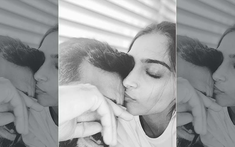 Sonam Kapoor Kisses Her 'Sleepy Hungry Baby' Anand Ahuja; He Finds The Post 'Super Cute' But Has A Special Request For Her