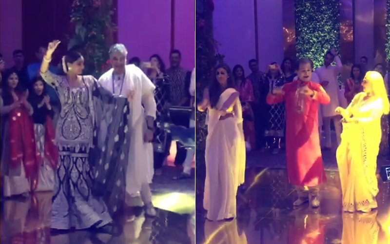 Video: Shweta Matches Steps With Mom, Jaya Bachchan; Sonam Kapoor Grooves To Prem Ratan Dhan Paayo