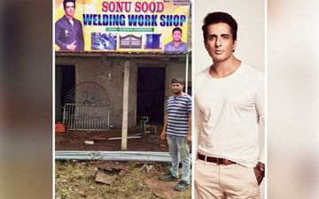 Sonu Sood Helped A Migrant In Need, He Returned The Favour By Naming New Welding Shop After The Actor