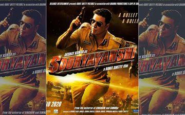 अक्षय कुमार की फिल्म 'सूर्यवंशी' का पोस्टर हुआ रिलीज़, ATS चीफ के किरदार में नजर आये खिलाड़ी