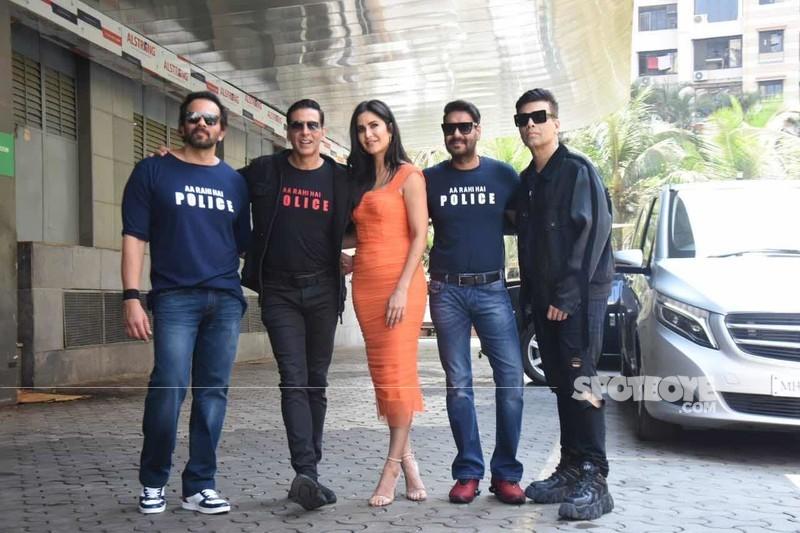 Sooryavanshi team