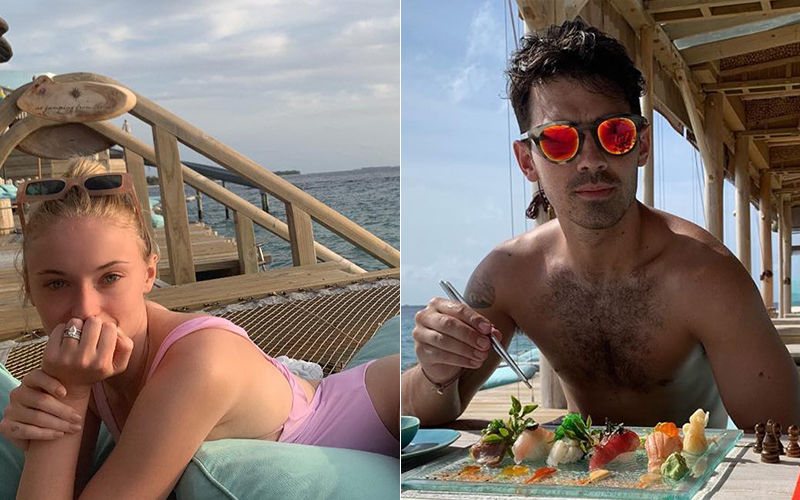 Joe Jonas And Sophie Turner's Honeymoon Pictures From Maldives Scream Big Love