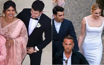 Priyanka Chopra Brings Desi Glam To Sophie Turner-Joe Jonas' Uppity French Wedding; That Saree Though, Mon Chéri!