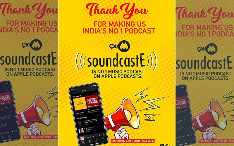 9XM SoundcastE Becomes India's Favourite Podcast; Ranks Number 1 On Apple