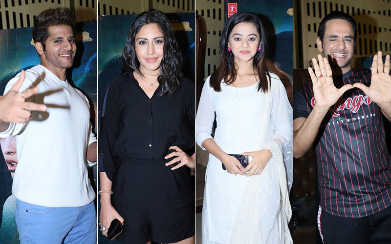 Surbhi Chandna, Vikas Gupta And Helly Shah Make Karanvir Bohra's Film Screening A Star-Studded Affair