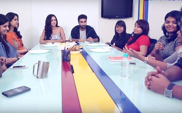 SpotboyE Journalists Train Newbies Aadar Jain & Anya Singh To Face The Media