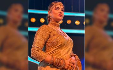 Srabanti Chatterjee Looks Every Bit Royal That She Is In Her Latest Outfit, See Pic On Twitter