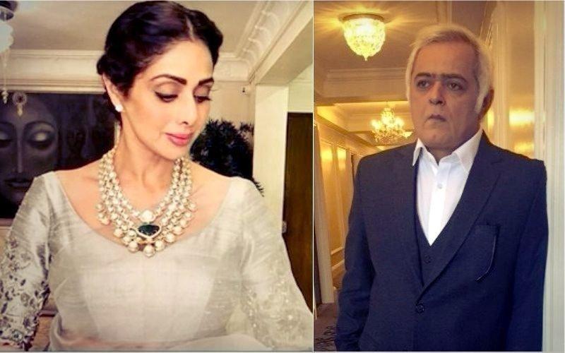 बॉलीवुड की 'चांदनी' श्रीदेवी को फिल्म समर्पित करेंगे हंसल मेहता