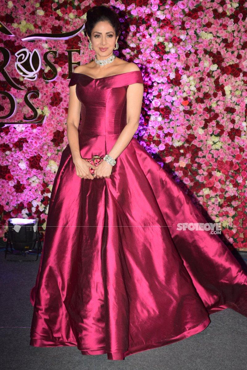 sridevi at lux golden rose awards