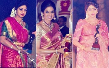 Sridevi Dies At 54: Superstar's Awards Galore - From ChaalBaaz & Lamhe To English Vinglish & Mom