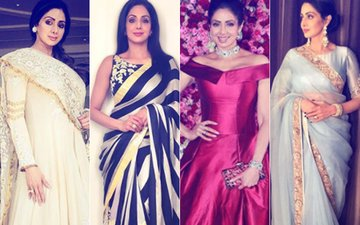 'Roop Ki Rani' No More: Last 12 Times Manish Malhotra Dressed Gorgeous Sridevi In His Creation...