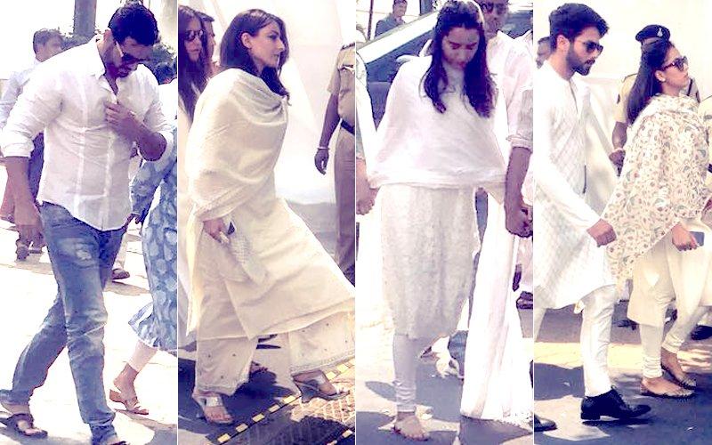 Sridevi Prayer Meet: Shahid-Mira, Soha, John, Shraddha Come In